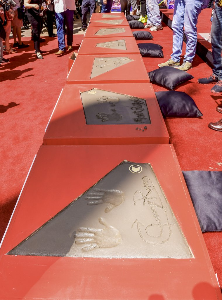 Avengers Chinese Theatre de Hollywood Boulevard 14