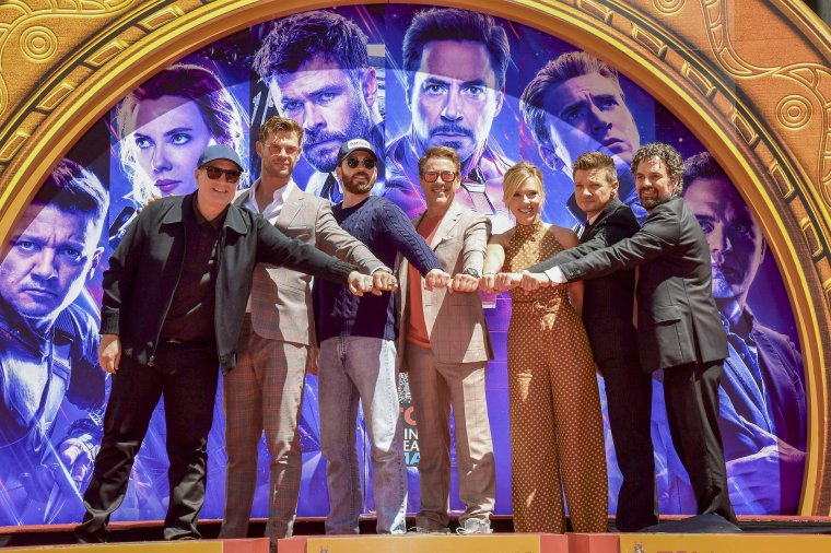 Avengers Chinese Theatre de Hollywood Boulevard 15