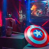 Les super-héros Marvel s'exposent ce week-end à Paris
