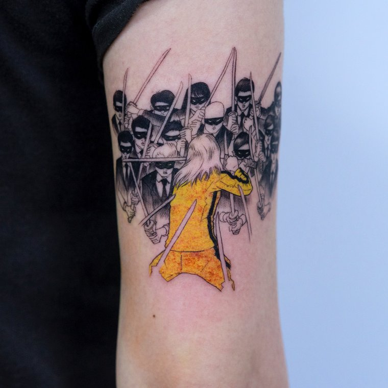 Tatouage Kill Bill