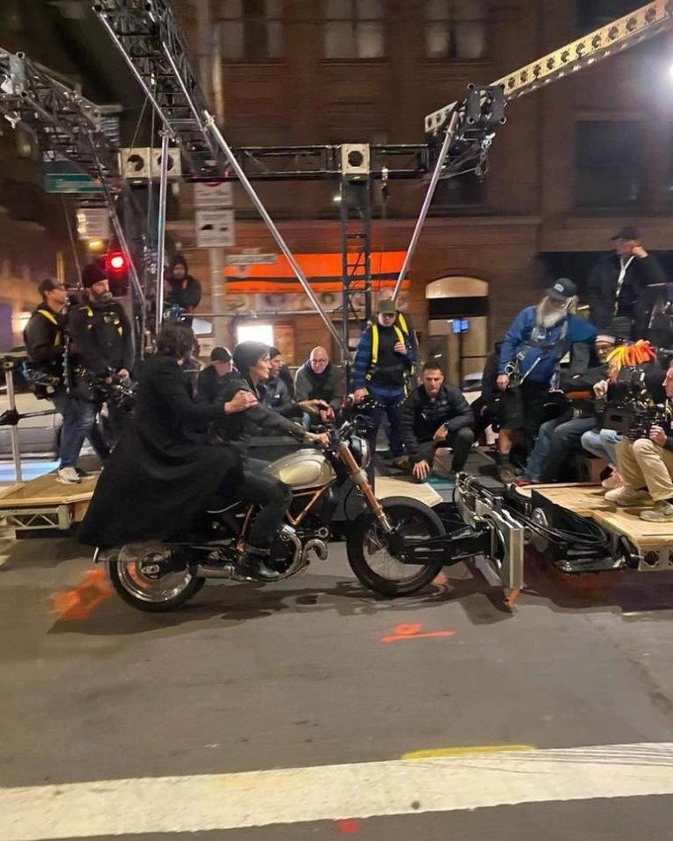 Matrix 4 - Photo de tournage 03