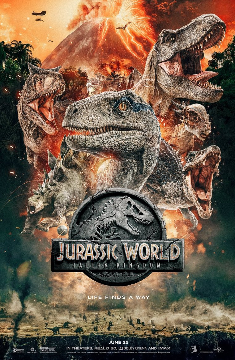 Jurassic World : Fallen Kingdom affiche