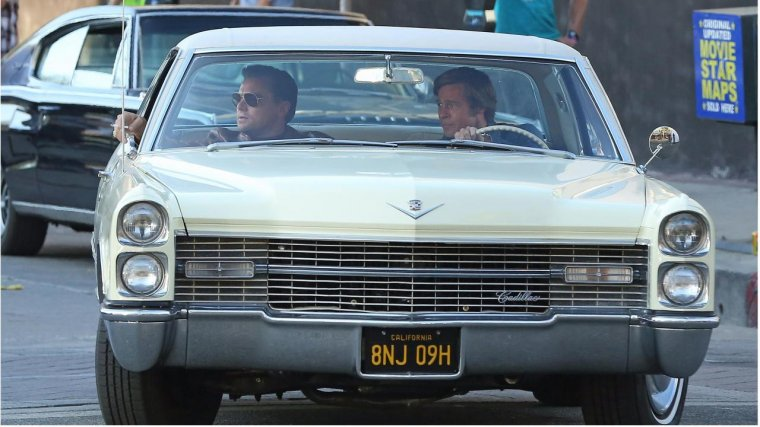 Once Upon A Time In Hollywood - Photo de tournage 01