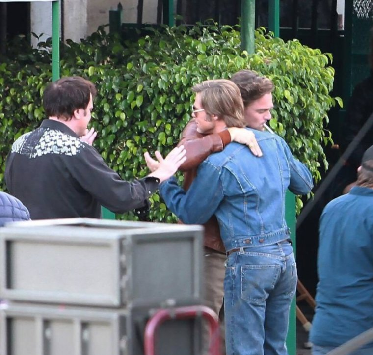 Once Upon A Time In Hollywood - Photo de tournage 06