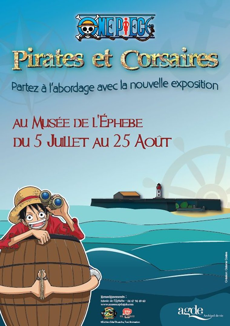 One Piece - Affiche expo