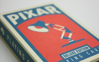 Pixar playing cards deluxe box