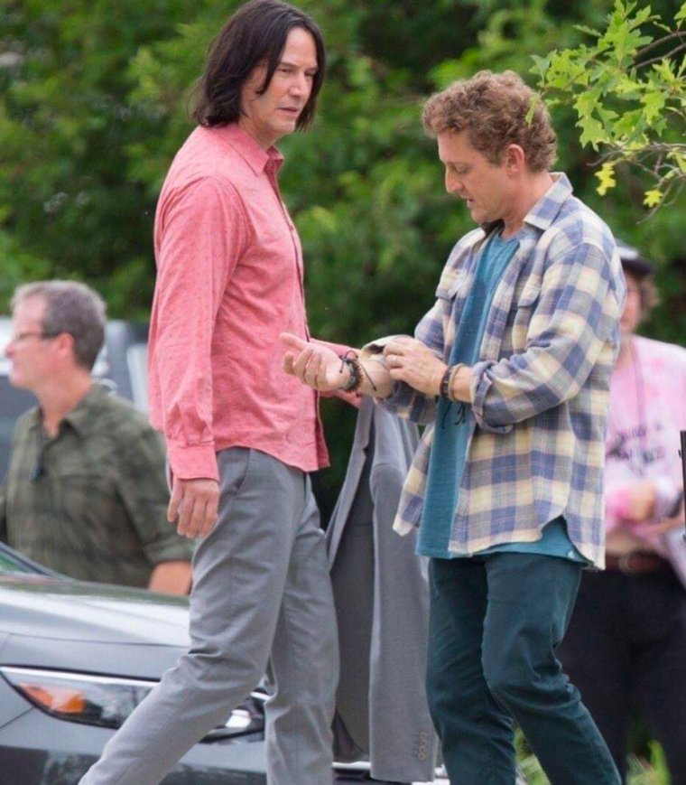 Bill & Ted 3 - Photo de tournage 02