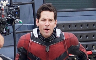 Premières photos de Paul Rudd en costume sur le tournage de Ant-Man and the Wasp