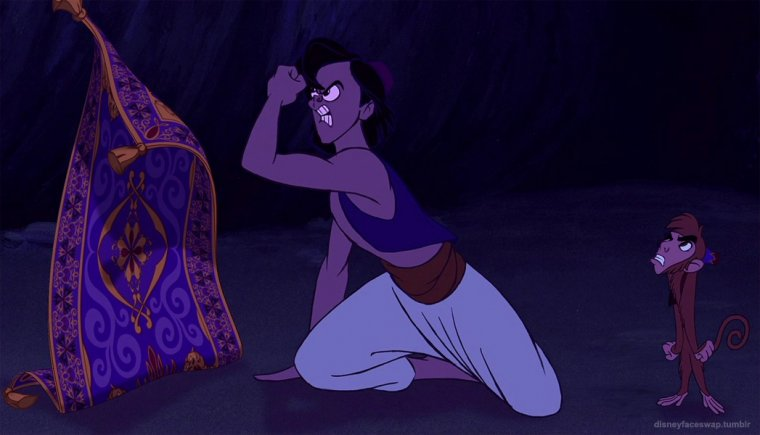 Disney Face Swap : Aladdin 01