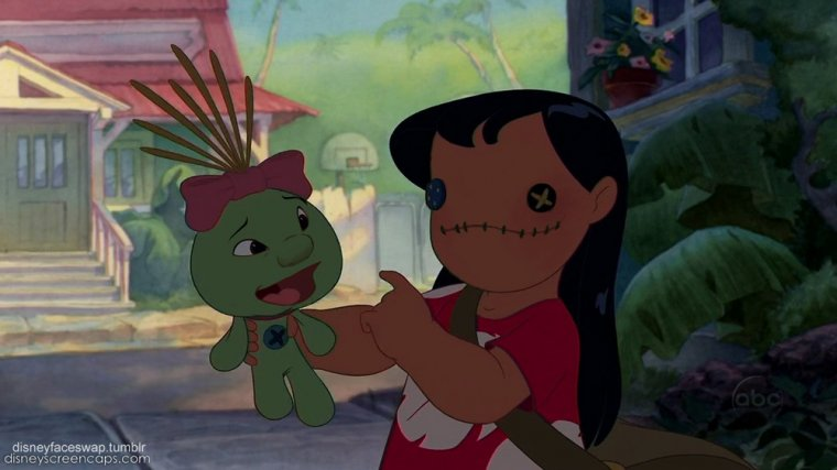 Disney Face Swap : Lilo & Stitch