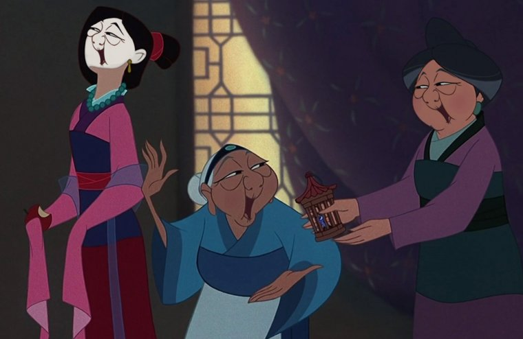 Disney Face Swap : Mulan 03