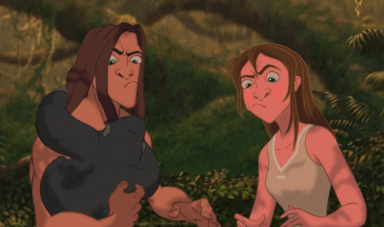 Disney Face Swap : Tarzan 02