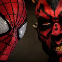 Quand Spider-Man affronte Darth Maul