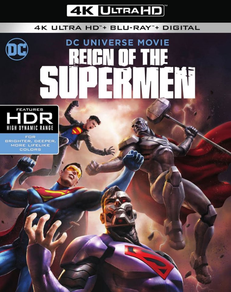 Reign of the Supermen - Jaquette Blu-ray 4K