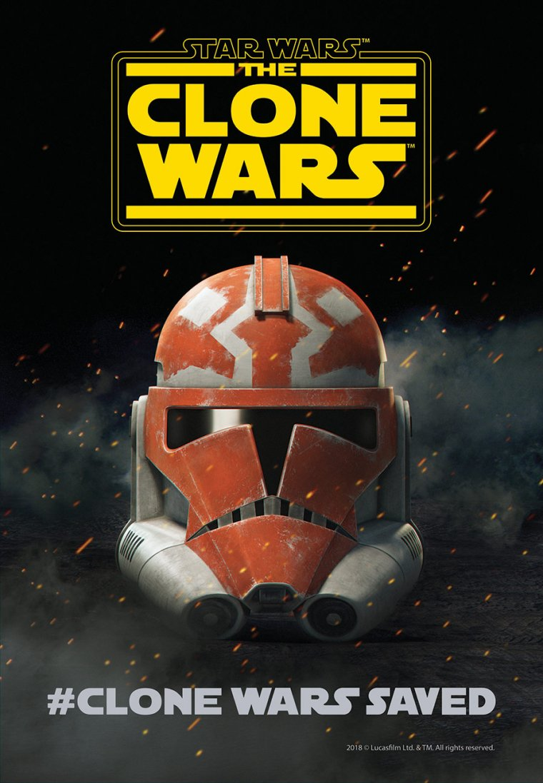 Star Wars : The Clone Wars - Affiche saison 7