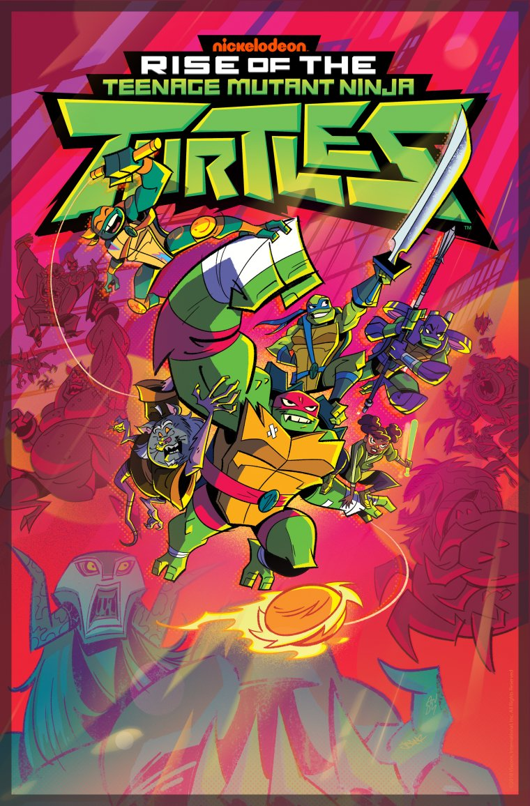 Rise of the Teenage Mutant Ninja Turtles - Affiche