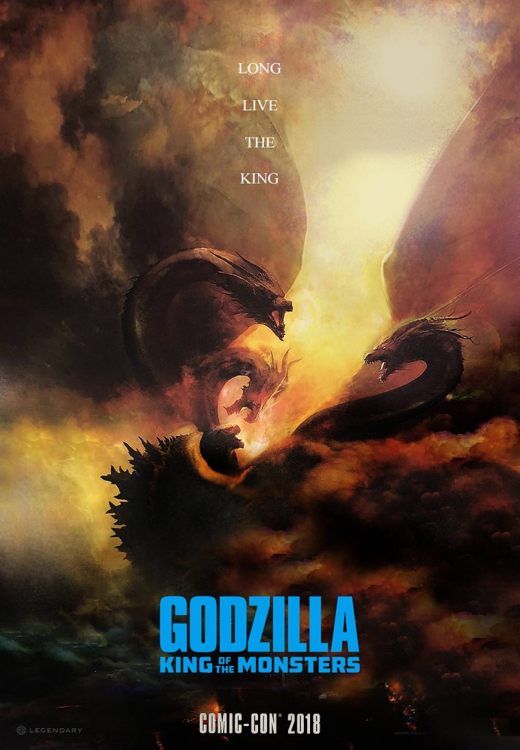 Godzilla : King of the Monsters - Affiche Comic-Con