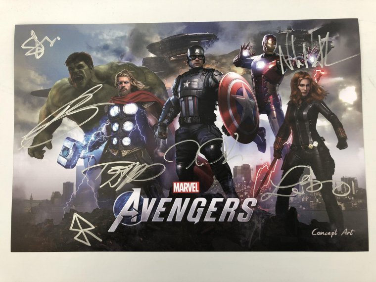 Marvel's Avengers : A-Day - Affiche Comic-Con