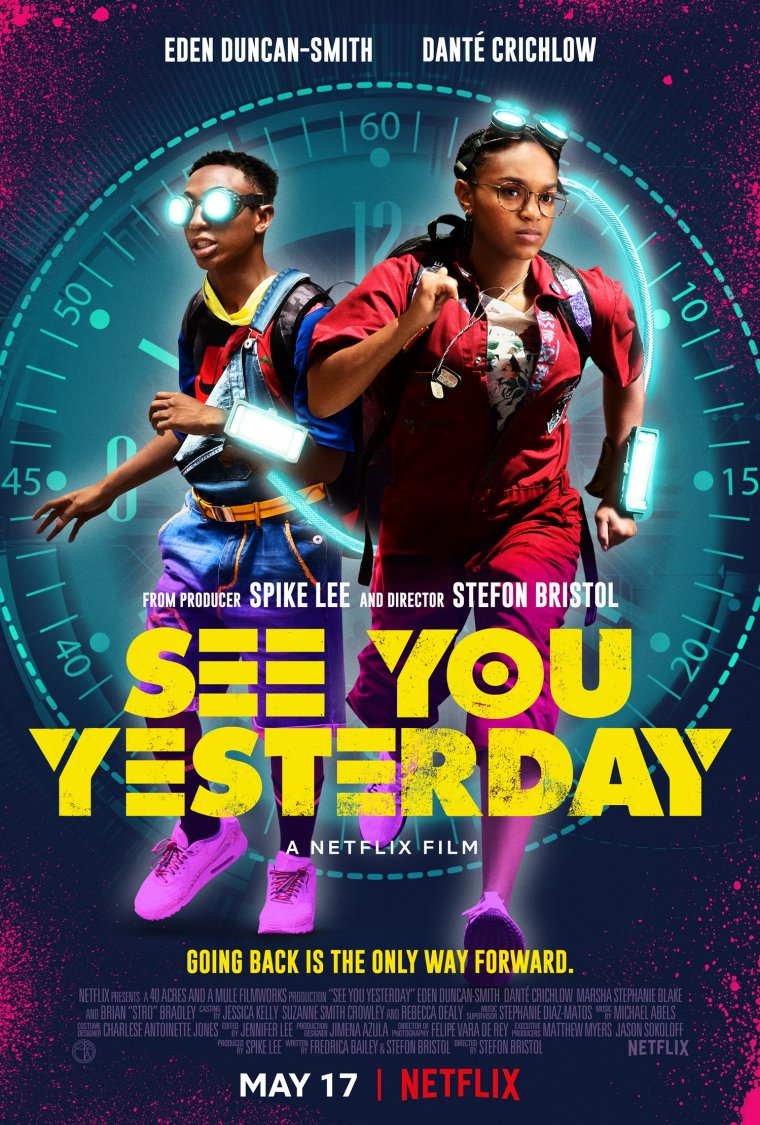 See You Yesterday - Affiche