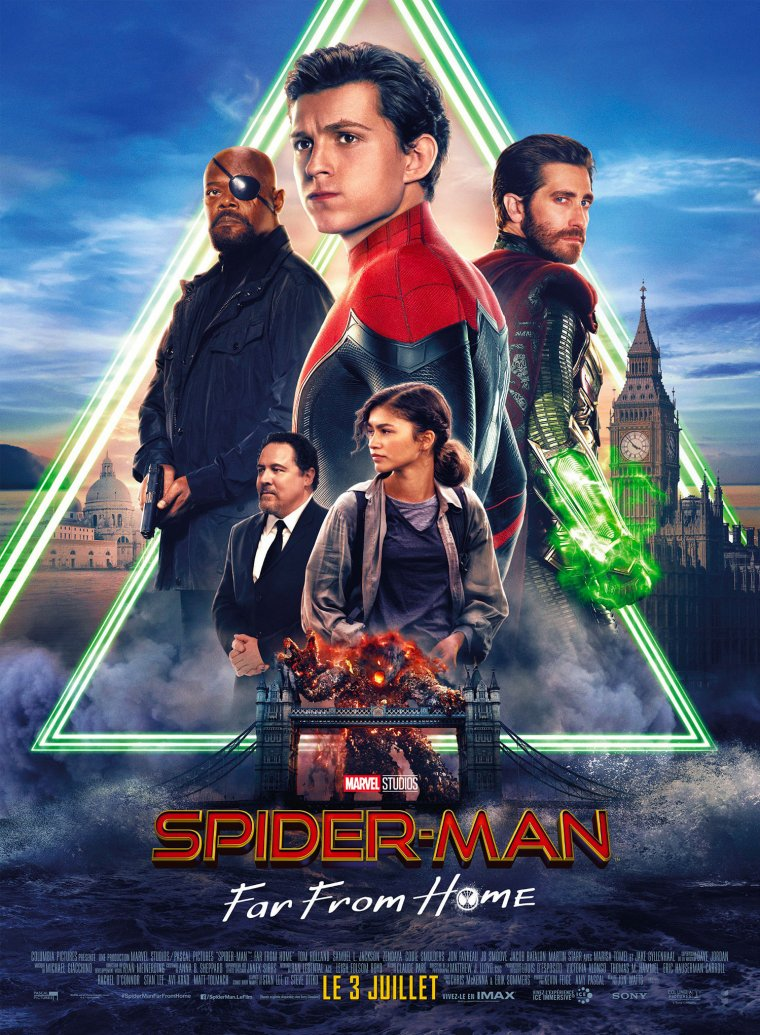 Spider-Man Far From Home - Affiche