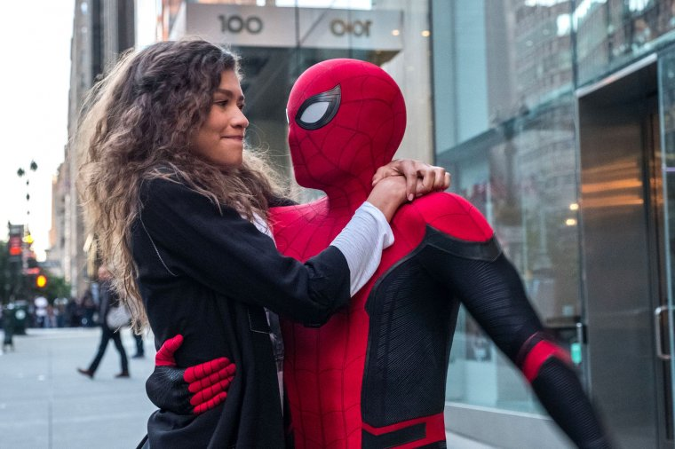 Spider-Man : Far From Home - Zendaya et Tom Holland