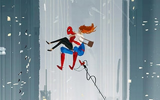 Spider-Man : les fan arts vertigineux de Pascal Campion