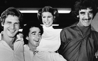Star Wars : 30 photos de Carrie Fisher sur le tournage de la saga