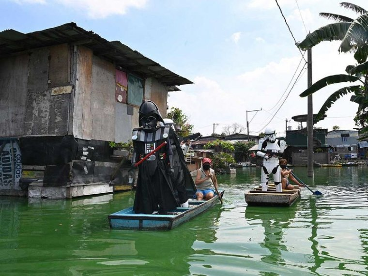 Star Wars : Dark Vador et ses Stormtroopers invitent les philippins à respecter le confinement 03