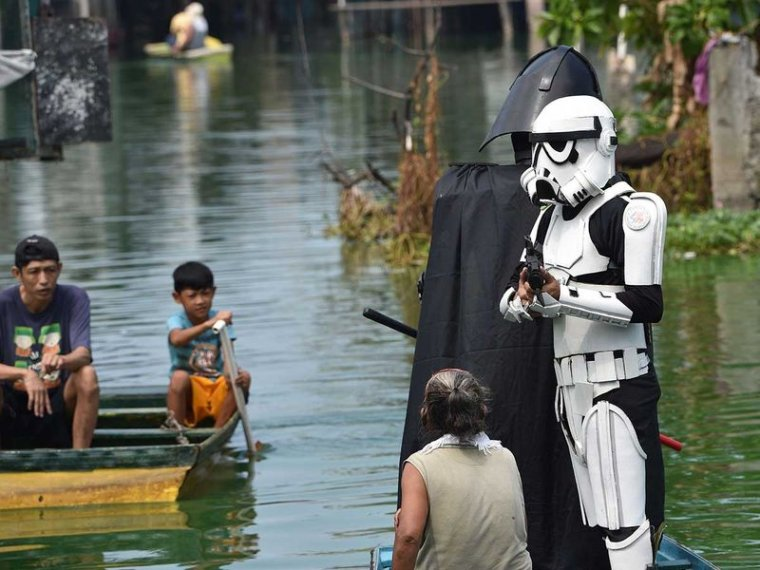 Star Wars : Dark Vador et ses Stormtroopers invitent les philippins à respecter le confinement 04