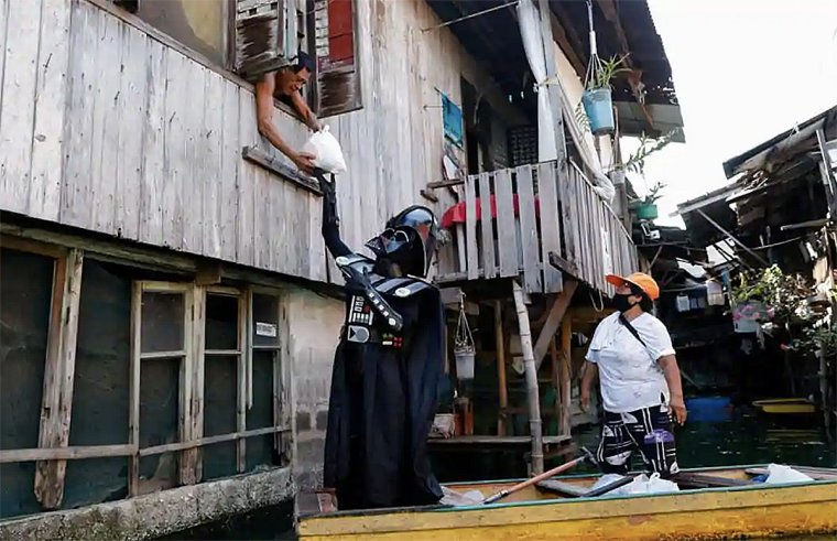 Star Wars : Dark Vador et ses Stormtroopers invitent les philippins à respecter le confinement 05