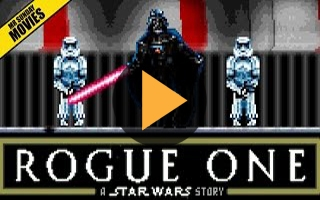 Star Wars : la scène finale de Dark Vador dans Rogue One recréée en version 16 bits