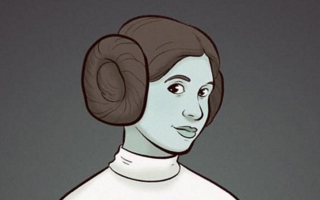 Star Wars : les plus beaux fan arts de la Princesse Leia