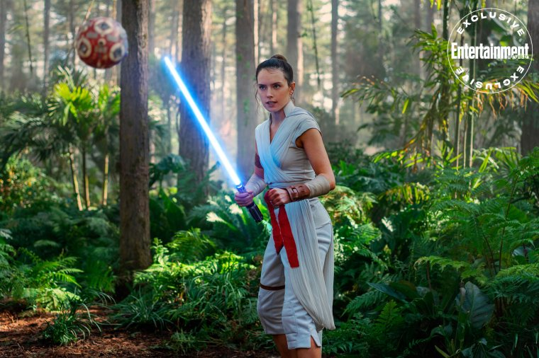 Star Wars : L'Ascension de Skywalker - Rey en plein entrainement