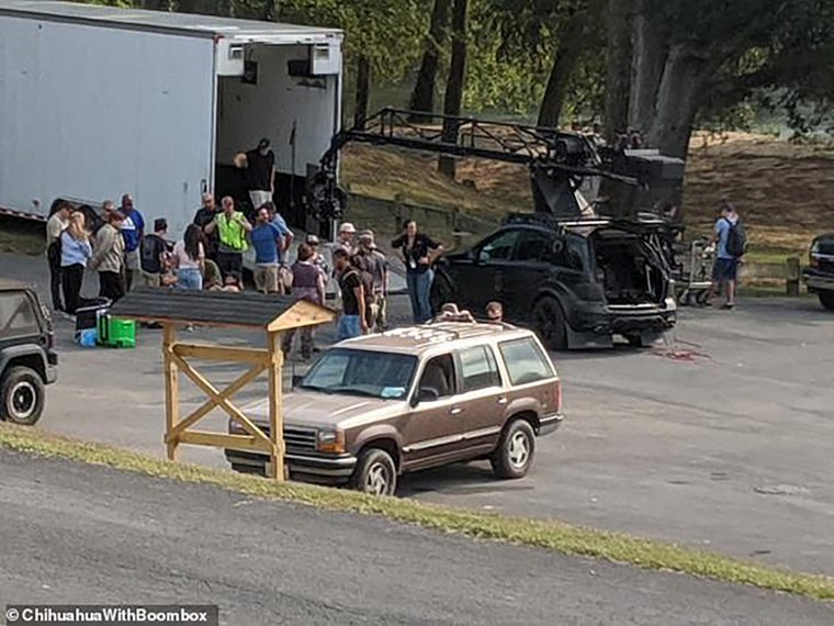 Stranger Things saison 4 - Photo de tournage 02