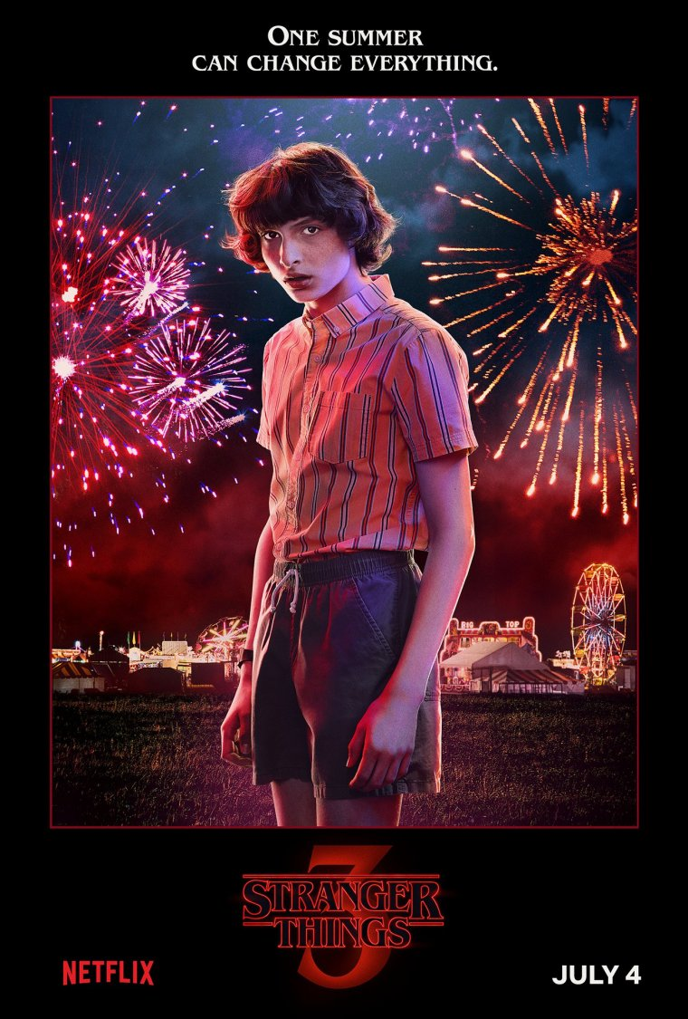 Stranger Things saison 3 - Affiche Mike