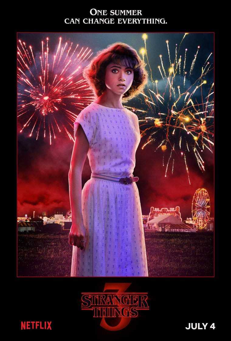 Stranger Things saison 3 - Affiche Nancy