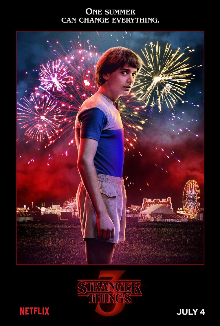 Stranger Things saison 3 - Affiche Will