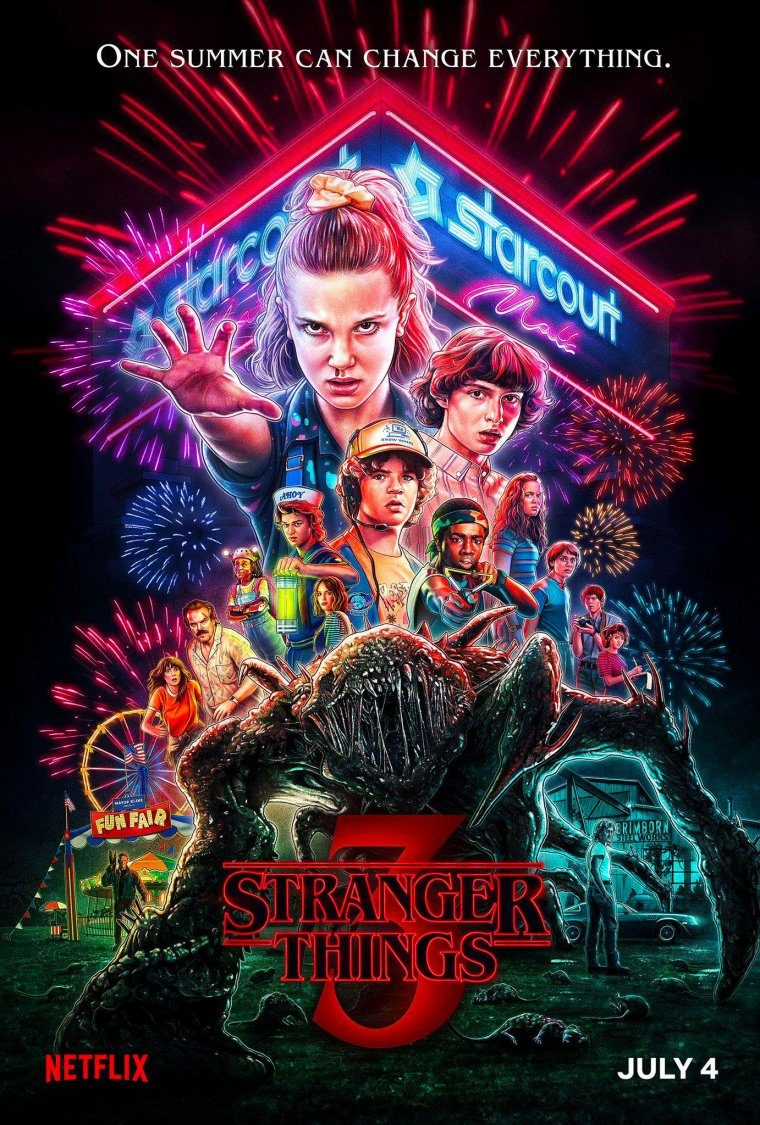 Stranger Things - Affiche saison 3