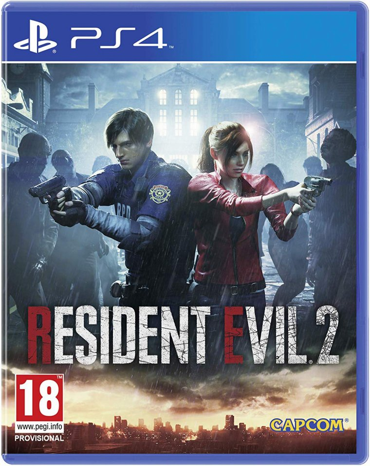 Resident Evil 2 - Jaquette PS4