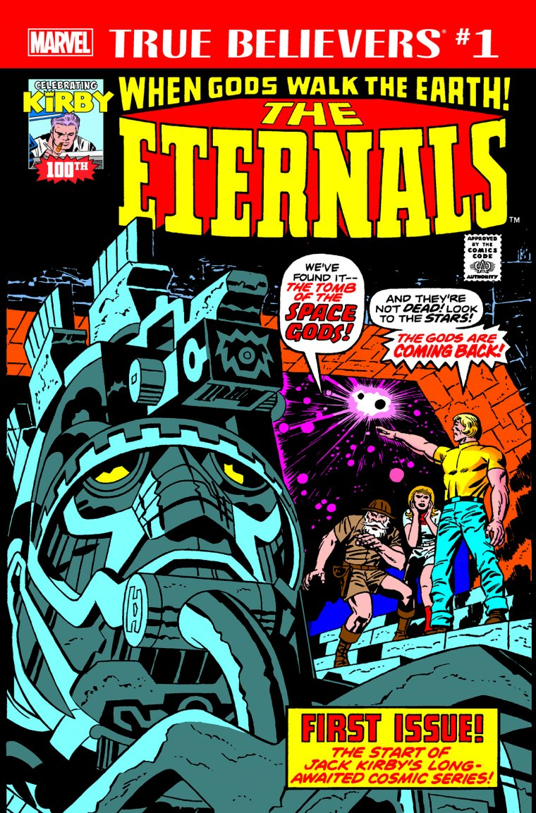 Comic book The Eternals #1