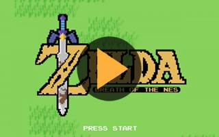 The Legend of Zelda : un fan a imaginé une version 8 bits de Breath of the Wild