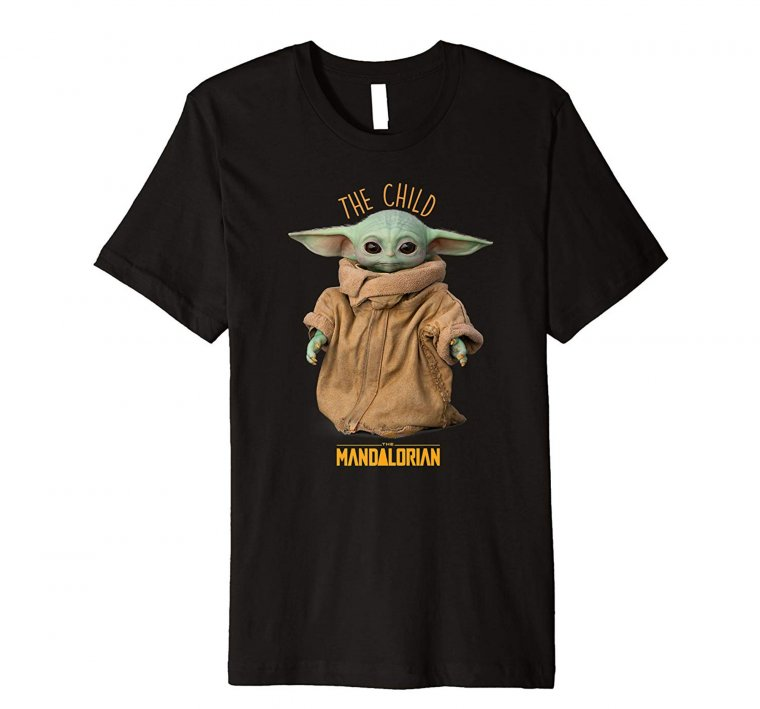 The Mandalorian : T-shirt Baby Yoda 02