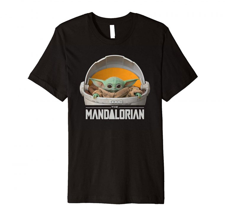 The Mandalorian : T-shirt Baby Yoda 03