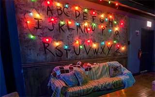 Un bar éphémère inspiré de l'univers de Stranger Things