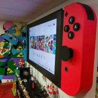 Un fan a transformé sa TV en Nintendo Switch géante