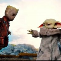 Un fan imagine la rencontre entre Baby Yoda et Baby Groot