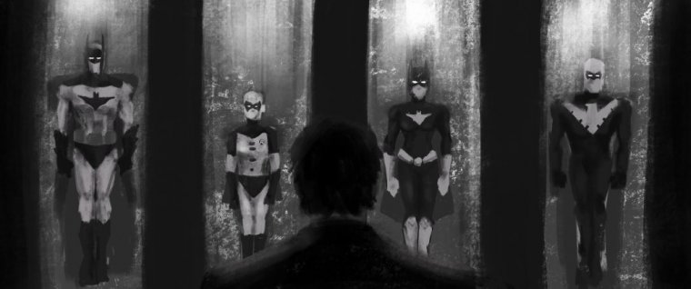 Film d'animation Batman Beyond - Concept art 02