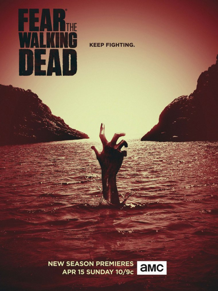 Fear the Walking Dead saison 4 - Affiche