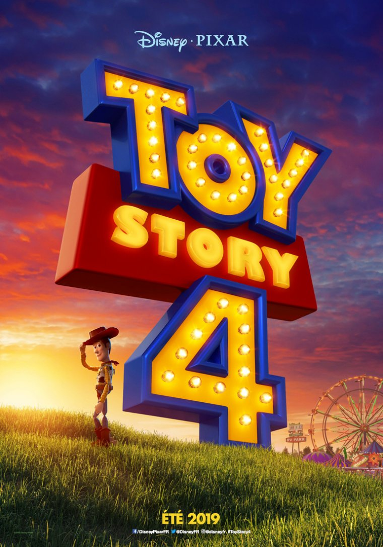 Toy Story 4 - Affiche teaser