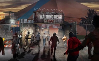 Un roller coaster The Walking Dead annoncé pour le Printemps 2018
